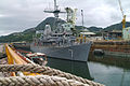 060916-N-4124C-004 USS Patriot (MCM 7) sits moored at the Ship Repair Facility in Sasebo.jpg