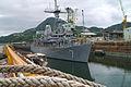 060916-N-4124C-004 USS Patriot (MCM 7) sits moored at the Ship Repair Facility in Sasebo.jpg