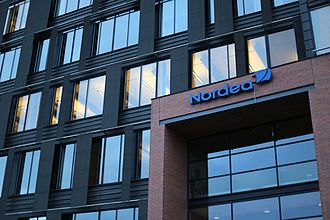 Nordea - The global headquarters of Nordea is located in Vallila, Helsinki.