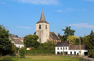 Ohain, Belgium - Neighbourhood of the Saint-Etienne church