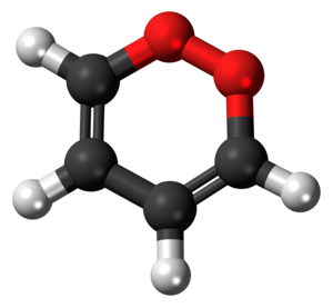1,2-Dioxin - Image: 1,2 Dioxin 3D balls 2