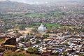 101 Aerial view Gwalior, depuis le fort Madhya Pradesh India.jpg