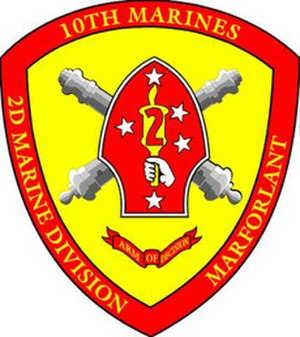 10th Marine Regiment (United States) - Image: 10th Marine Regiment Seal
