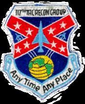 117th Tactical Reconnaissance Group - Legacy Emblem