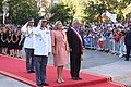 11 Marzo 2018, Ministra Cecilia Perez participa en la llegada del Prdte. Sebastian Piñera a La Moneda. (38945956640).jpg