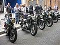 120 Fira Modernista de Terrassa, mostra de motos d'època a la Rambla.JPG