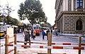 124R05221084 Haltestelle Bellaria - Schmerlingplatz, Blick Richtung Babenbergerstrasse, Strassenbahn Linie 46, Typ C1.jpg