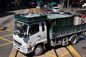 Fuso (company) - Fuso Fighter in Hong Kong, 2013