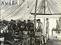 13 Squadron RAAF personnel in crew tent Hughes NT Feb 1943 AWM NWA0066.jpg