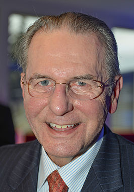 Jacques Rogge in 2014