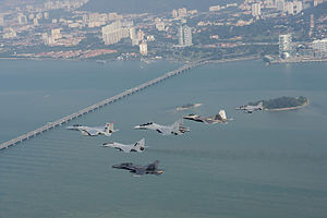 Royal Malaysian Air Force - Royal Malaysian Air Force and US Air Force participating in Cope Taufan 2014