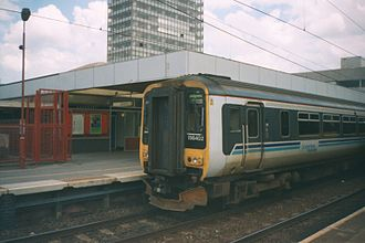 Regional Railways - Image: 156 unit in Coventry 2000