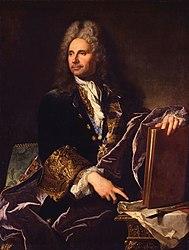 Hyacinthe Rigaud: Robert de Cotte