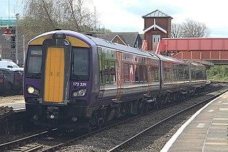 West Midlands Trains - Image: 172339 West Midlands trains Stratford Upon Avon 25 04 18 (41756133092)