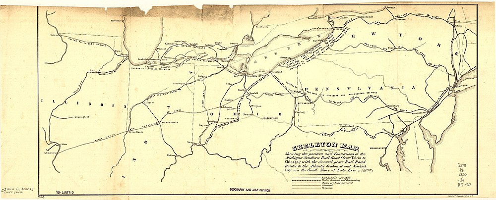 New Buffalo Michigan Map.History Of Railroads In Michigan Wikipedia