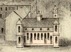 New London Union Station - 1852-built station on an 1854 landscape