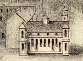 New London Union Station - 1852-built station on an 1854 landscape
