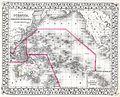 1874 Mitchell Map of Australia, Polynesia and Hawaii - Geographicus - Polynesia-m-1874.jpg
