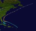 1887 Atlantic hurricane 7 track.png