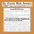 18950501 Duck-pin bowling tournament - The Topeka State Journal.png