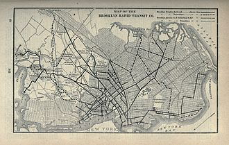 Brooklyn Rapid Transit Company - Routes in 1897