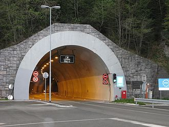 Loibl Pass - Slovenian side of the present Loibl Tunnel