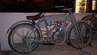 Harley-Davidson - 1907 model.