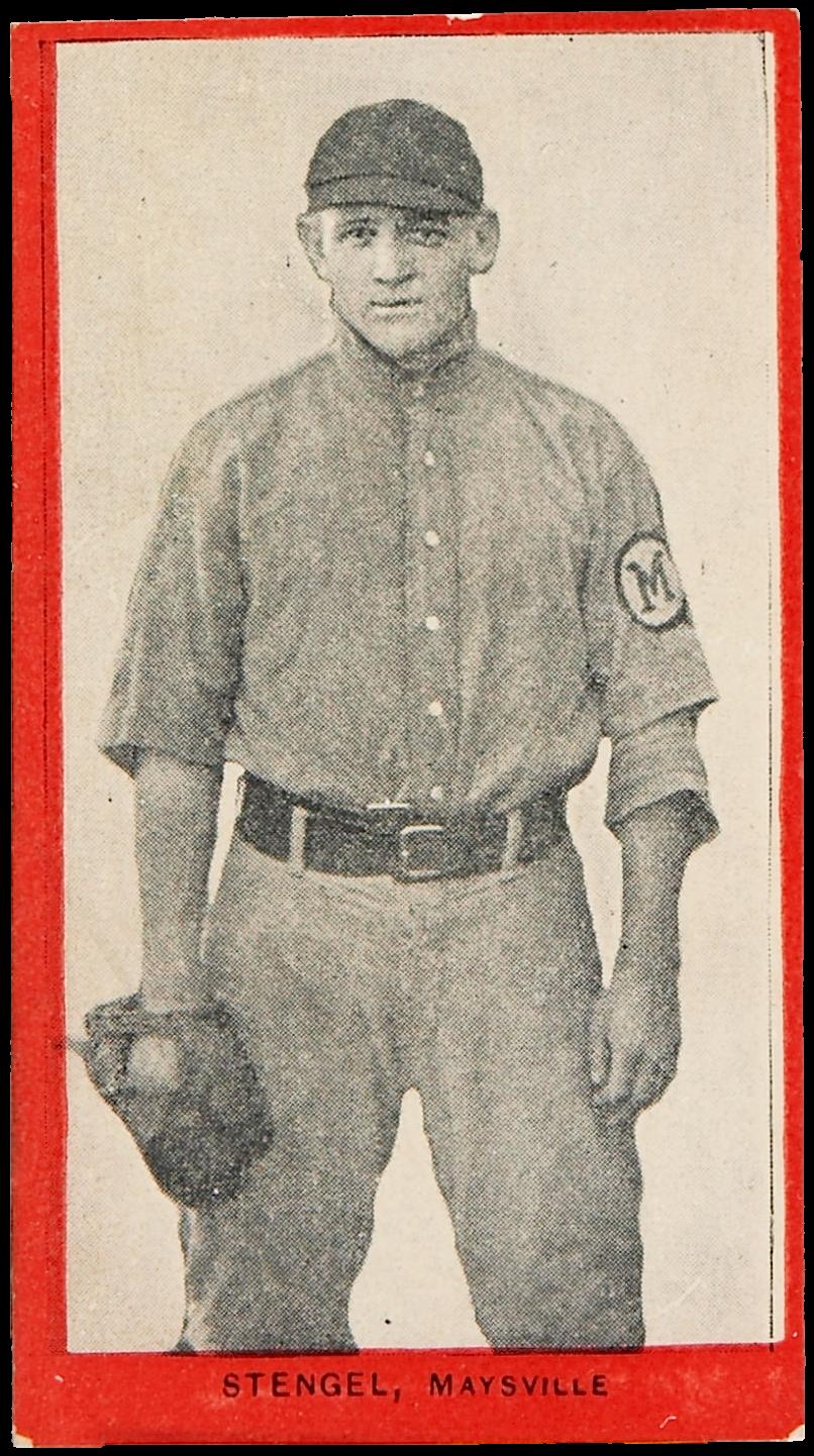 1910 T210 Old Mill Casey Stengel