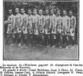 1922 - Tricolor - echipa de fotbal campioana a Romaniei in 1922.PNG