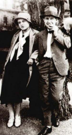 Karel Teige - Teige with Toyen in 1925