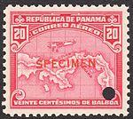 1930 Panama 20c airmail specimen stamp.jpg