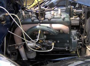 1931 Ford Model A roadster engine.JPG