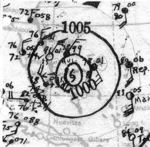 1935 Cuba hurricane analysis 29 Sep.png