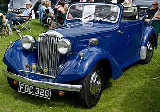 Sunbeam-Talbot Ten - 1938 Talbot Ten drophead coupé