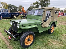 1946 Willys CJ2A all original at 2019 AACA Hershey meet 1of5.jpg