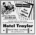 1950 - Hotel Traylor - 13 May MC - Allentown PA.jpg