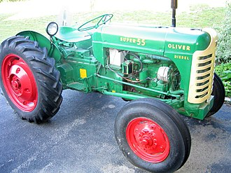 Oliver Farm Equipment Company - 1956 Oliver Super 55 Diesel