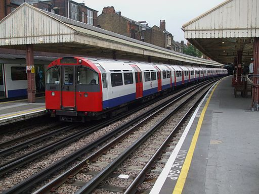 1973 stock at Barons Court