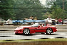 The Pre Production Dodge Viper Sr I As Pace Car For 1991 Indianapolis 500