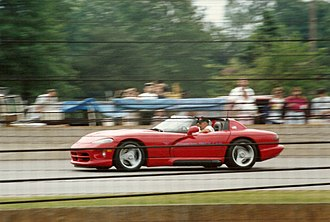 Dodge Viper (SR I) - The pre-production Dodge Viper (SR I) as the pace car for the 1991 Indianapolis 500.