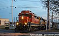 1 2 BNSF 2805 Leads Gardner Local Gardner, KS 12-16-17 (39087977052).jpg