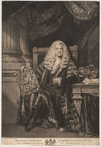 James Hewitt, 1st Viscount Lifford - Image: 1st Viscount Lifford 2