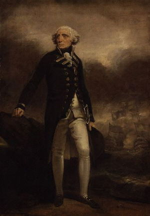 English: Richard Howe, 1st Earl Howe (1726-1799)