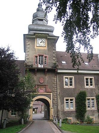 Spenge - Image: 20040727 Spenge Schloss Muehlenburg