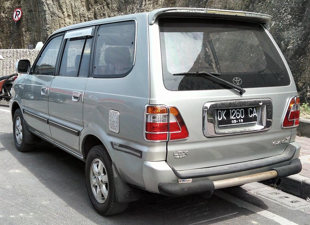 File 2004 Toyota Kijang Lgx 1 8efi  Rear   Pandawa Beach