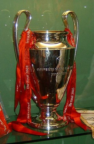 Liverpool F.C. - The European Cup trophy won by Liverpool for a fifth time in 2005