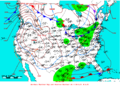 2007-01-24 Surface Weather Map NOAA.png