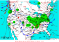 2007-02-13 Surface Weather Map NOAA.png