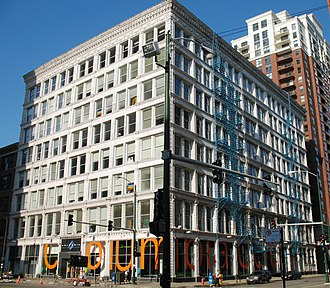1891 in architecture - Ludington Building - Chicago