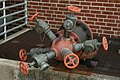 2008-07-04 Fire hose valves at NCSSM.jpg